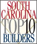 South Carolina Top 10 Builders logo